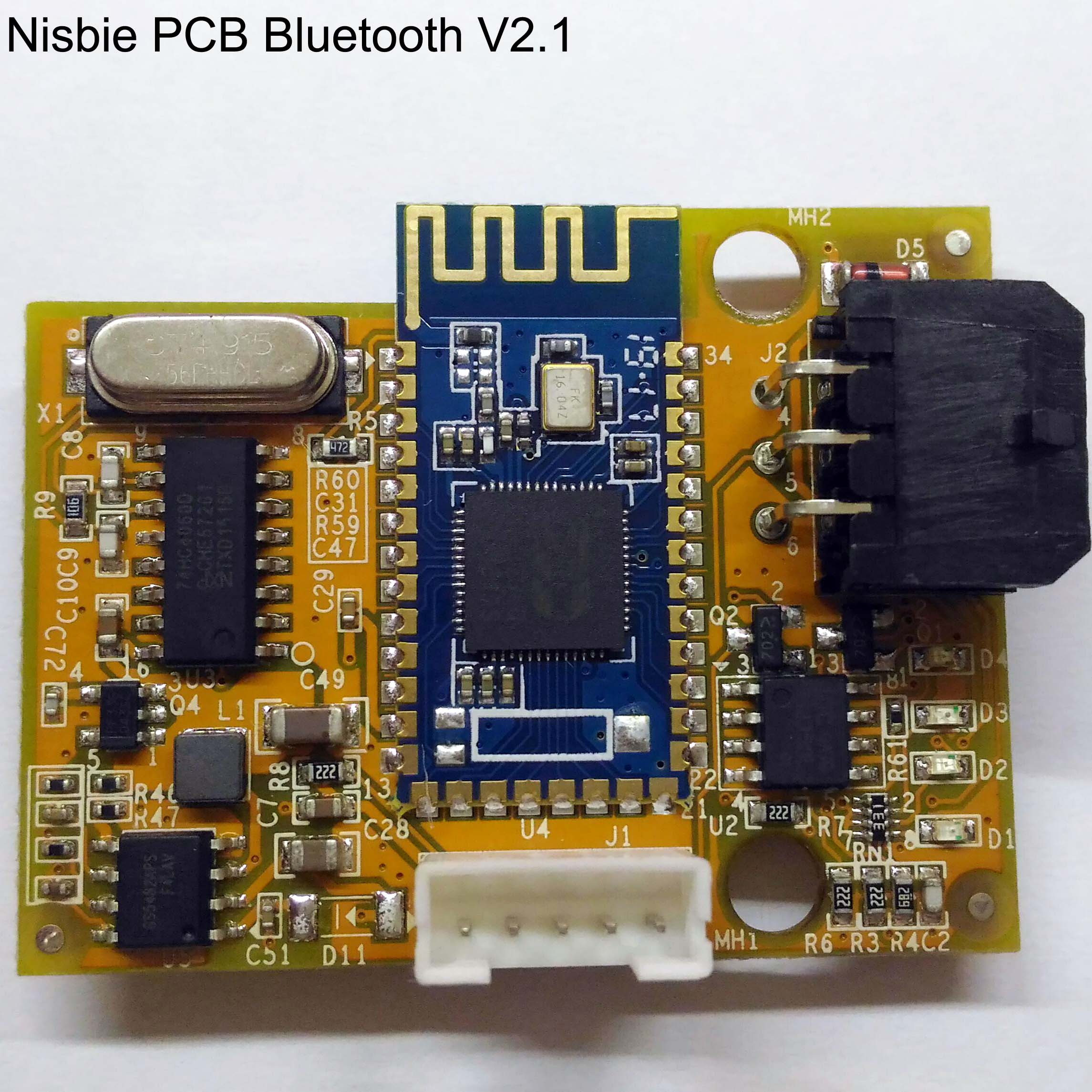 Nisbie Bluetooth V22 PCB
